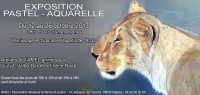 Invitation Exposition 2013.Tableau d'Isabelle Thomas